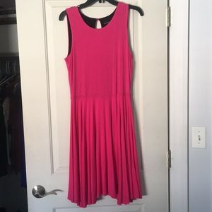 Comfy Cynthia Rowley Dress in Hot Pink